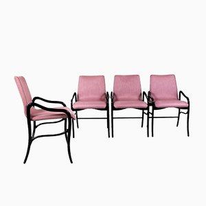 Lehnstühle von Enrico Ciuti, 1960er, 4er Set