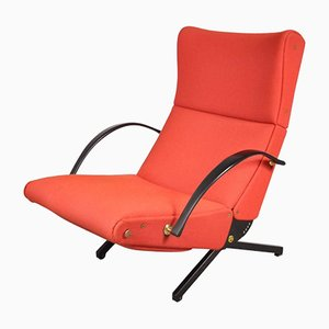 Italian P40 Lounge Chair by Osvaldo Borsani for Tecno, 1956