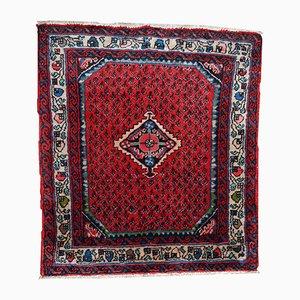 Tappeto Hamadan vintage fatto a mano, Medio Oriente, anni '80