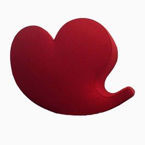 Sedia a dondolo Soft Heart vintage di Ron Arad per Moroso