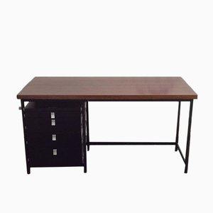 Schreibtisch mit Wengeholz Tischplatte von Jules Wabbes für Mobilier Universel, 1959