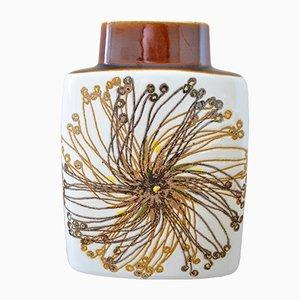 Mid-Century Baca Fayence Vase by Ellen Malmer for Royal Copenhagen