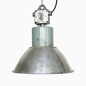 Lámpara industrial con pantalla de aluminio