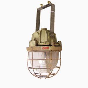 Lampe Cage Vintage Industrielle de Mapelec