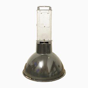 Mid-Century Fabrik Lampe aus Emaille von Mazda