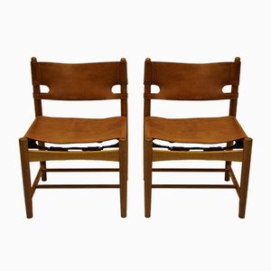 Model 3237 Chairs by Borge Mogensen for Fredericia, Set of 2