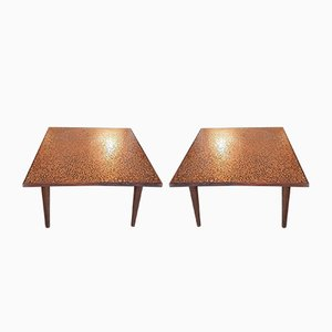 Mid-Century Italian Coffee Tables, 1960s, Set of 2