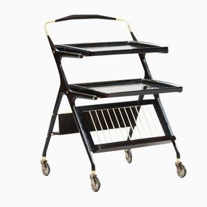 Vintage Serving Cart by Cesare Lacca