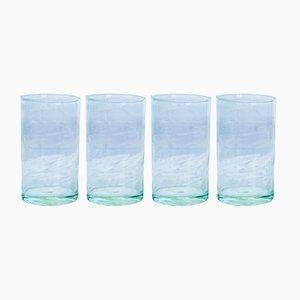 Vasos Hi-Ball de vidrio soplado de House Doctor. Juego de 4
