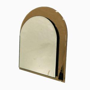 Espejo de mesa italiano de Giuseppe Raimondi para Cristal Art, años 70