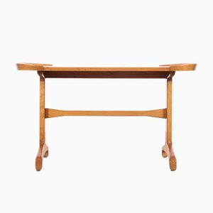 Table Basse en Hêtre & Orme, 1960s