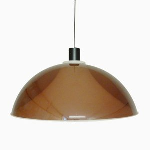 Lámpara vintage de plexiglás