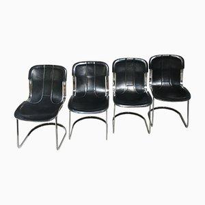 Esszimmerstühle von Cidue, 1970er, 4er Set