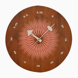 Reloj de pared Mid-Century de George Nelson para Howard Miller