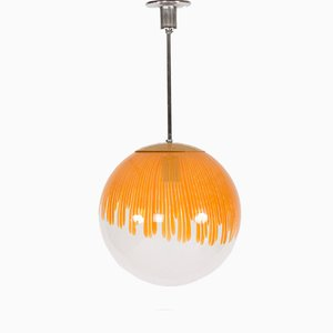 Anemone Pendant Lamp by Ludovico Diaz de Santillana for Venini, 1960s