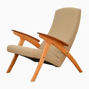 Vintage Sessel aus Massiver Buche