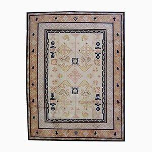 Handgefertigter Chinesischer Fete Teppich, 1930er
