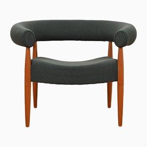 Vintage Pølsestolen Ring Sessel von Nanna Ditzel für Poul Kolds Savværk