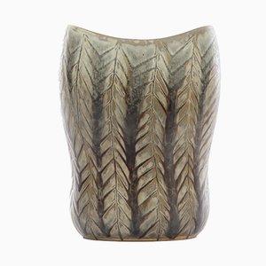 Swedish Snakeskin-Glazed Vase by Carl-Harry Stålhane for Rörstrand, 1950s