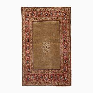 Handgefertigter antiker orientalischer Teppich, 1900er