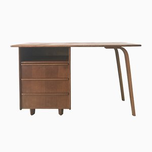 Vintage Oak EE02 Desk by Cees Braakman for Pastoe, 1940s