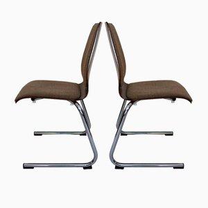 Österreichische Stühle von Wiesner-hager, 1970er, 4er Set