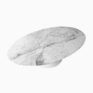Tavolo da pranzo vintage in marmo di Eero Saarinen per Knoll