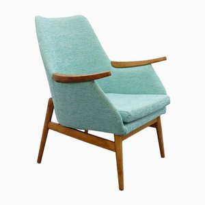 Mid-Century Mint Colored Armchair, 1960s