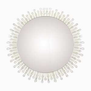 Mid-Century Hollywood Regency Round Mirror, 1960s