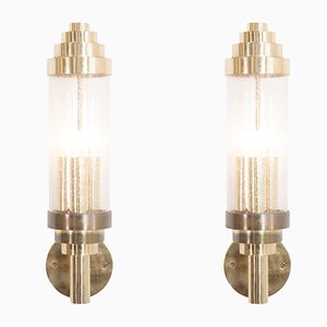 Brass Sconces, 1960s, Set of 2