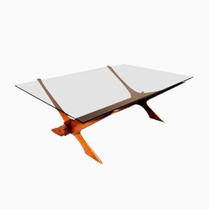 Table Basse Vintage par Frederick Schriever Abeln