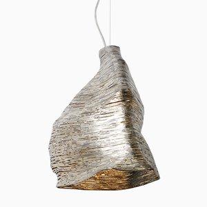 Lampe à Suspension Wrap en Tilleul de Johannes Hemann