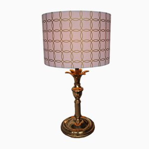 Vintage Golden Pineapple Table Lamp