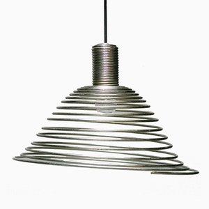 Lampe à Suspension Spirale par Angelo Mangiarotti pour Candle