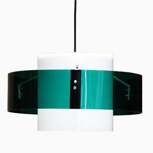 Lámpara colgante francesa modernista, años 60