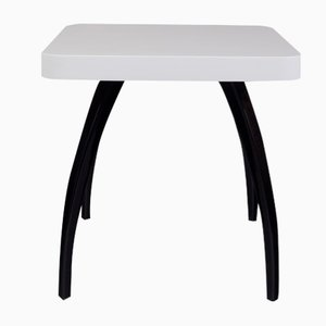 Vintage Black and White Coffee Table by Jindřich Halabala