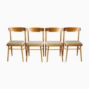 Chaises de Salle à Manger Vintage de TON, République Tchèque, 1960s, Set de 4