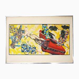 Poster multiplo Art O Matic Cidacutie di Peter Phillips per Jabik & Colophon, 1972