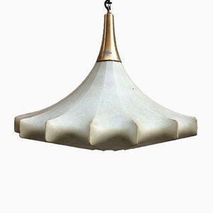 Lámpara colgante Cocoon vintage, años 60