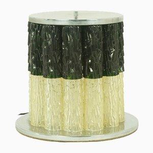 Lampada da tavolo grande in vetro di Murano, anni '60
