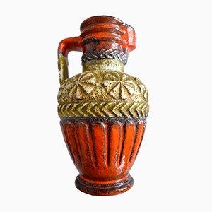 Jarrón de pie de cerámica de Bay Keramik, años 60