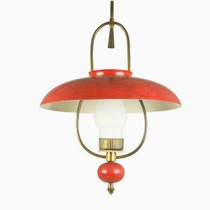 Lámpara de linterna de Stilnovo, años 40