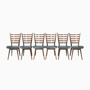 Mid-Century Chairs by Cees Braakman for Pastoe, Set of 6