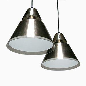 Lampes à Suspension Vintage par Raak, Set de 2