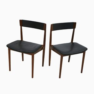 Vintage Model 39 Chairs by Henry Rosengren Hansen for Brande Møbelindustri, Set of 2