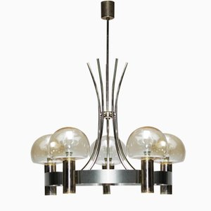 Vintage French Five Light Chandelier