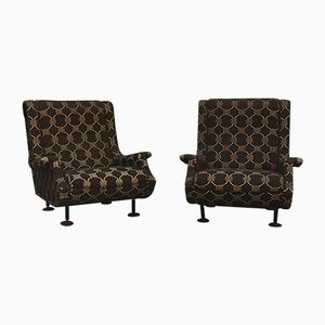 Mid-Century Regent Armchairs by Marco Zanuso for Arflex, Set of 2