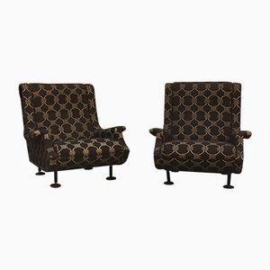 Mid-Century Regent Sessel von Marco Zanuso für Arflex, 2er Set