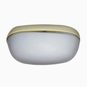 Lámpara de pared alemana de porcelana de Wilhelm Wagenfeld para Lindner, años 50