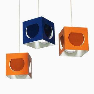 Lampes à Suspension par Shogo Suzuki pour Stockmann-Orno, 1963, Set de 9